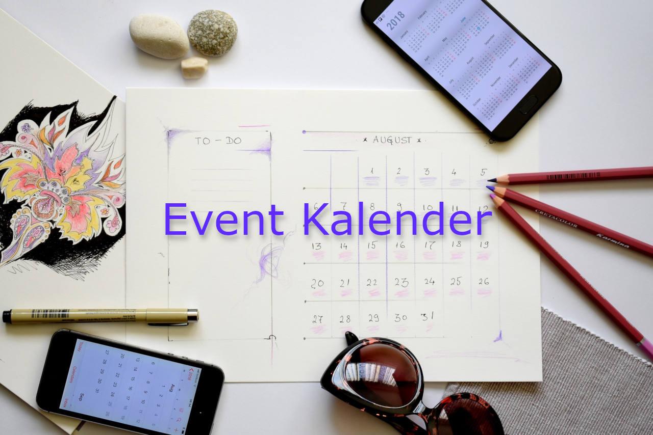 Event Kalender mit Buchung